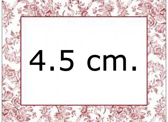 Diy 4.5 cm.